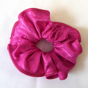 haarfrutsel poederstof pink