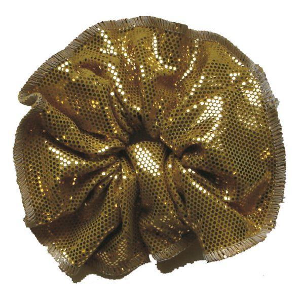 haarfrutsels metallisé goud